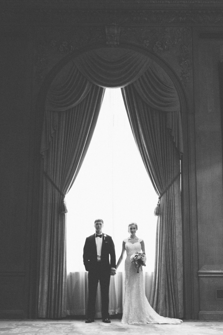 Fairmont Olympic Hotel seattle wedding photography-001
