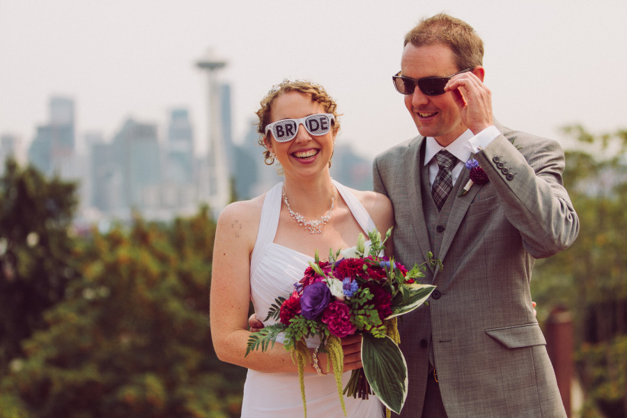 seattle brewery wedding photography