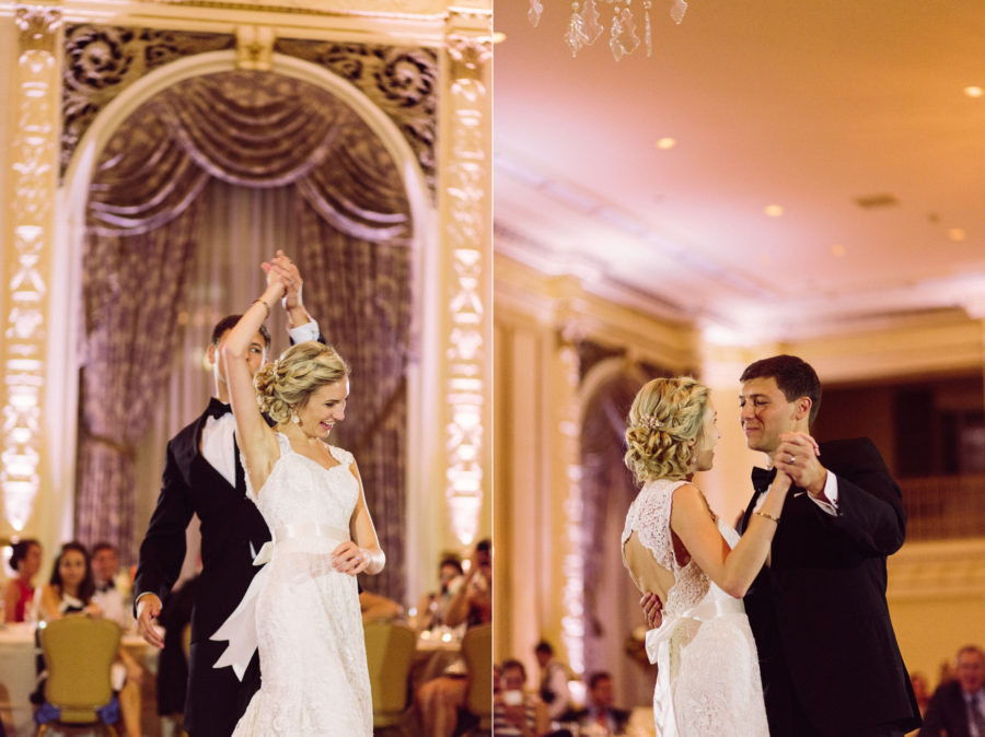 first dance fairmont olympic hotel seattle wedding