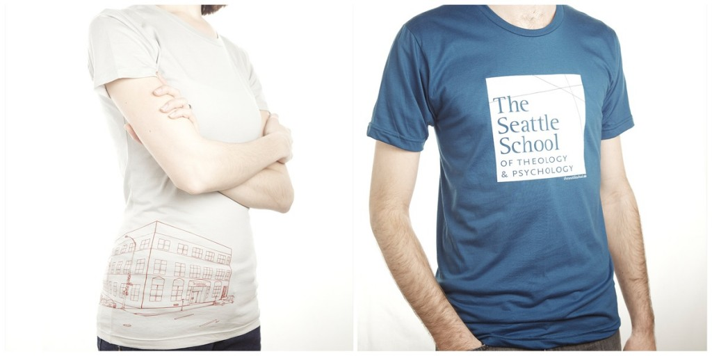 seattle school of theology and psychology shirts