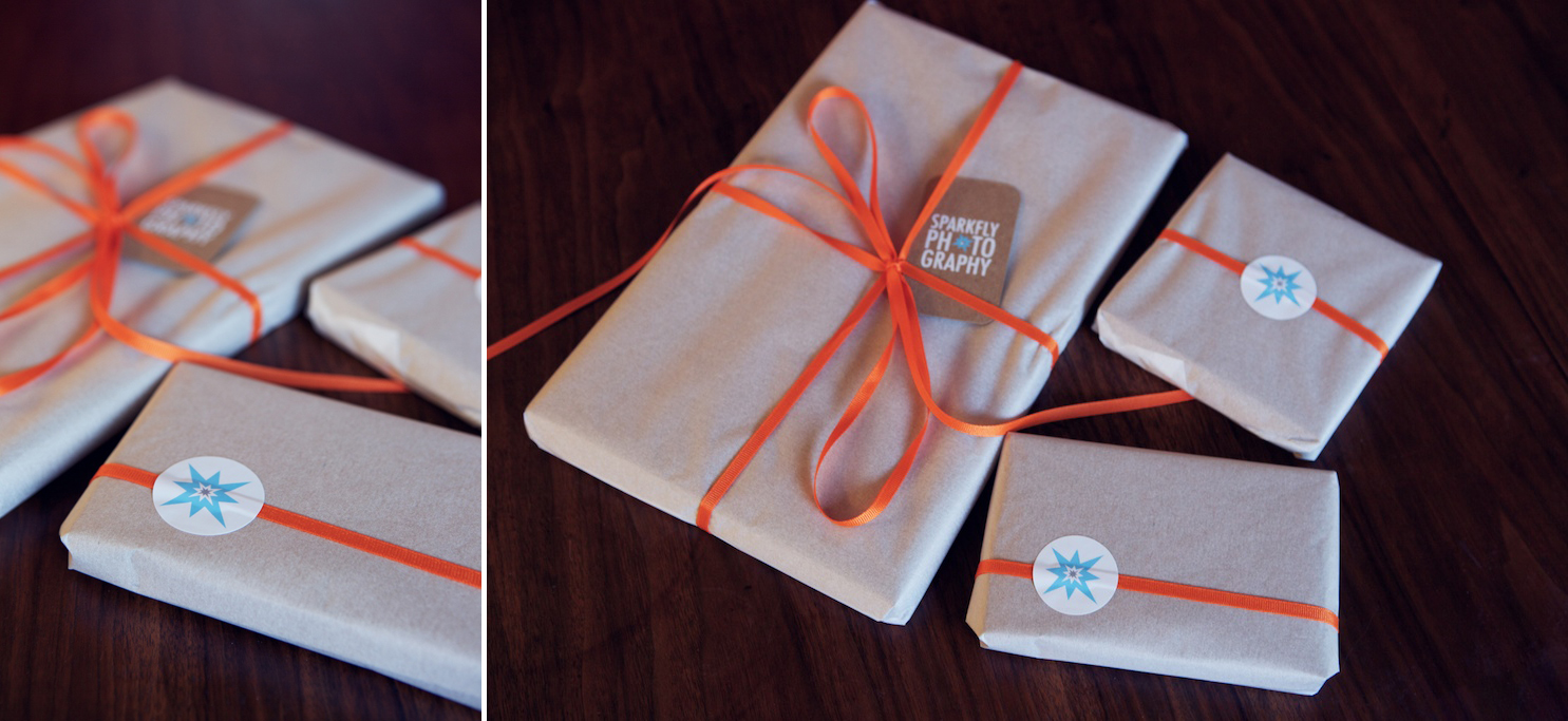 packaged boutique photography product