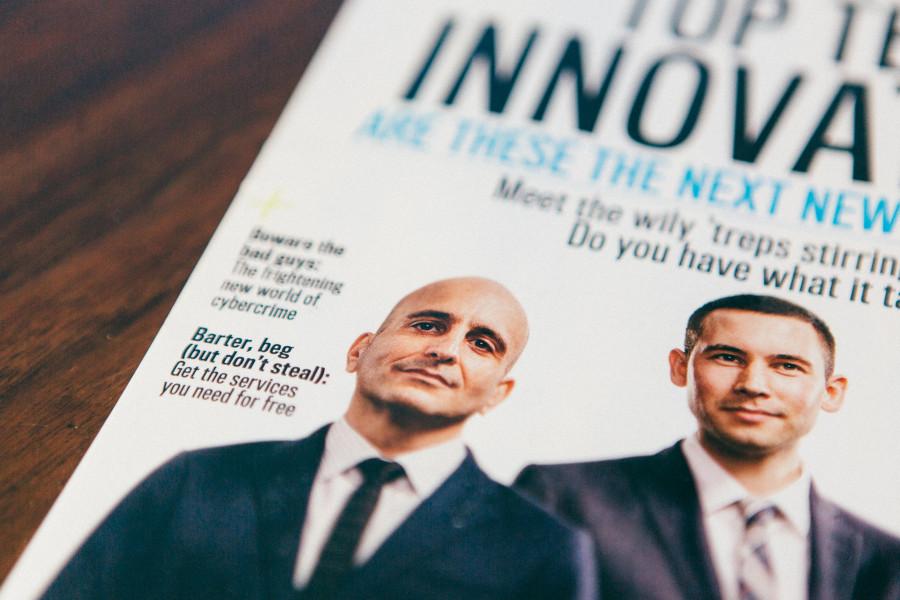 Entrepreneur magazine february 2014 sparkfly photography