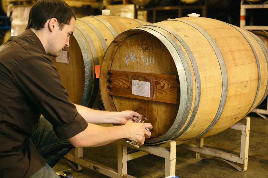 barrel aged beers fremont