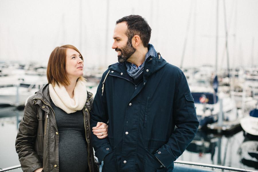 maternity photos at shilshole
