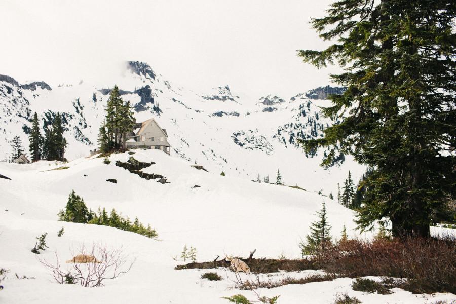 snow photos mt. baker