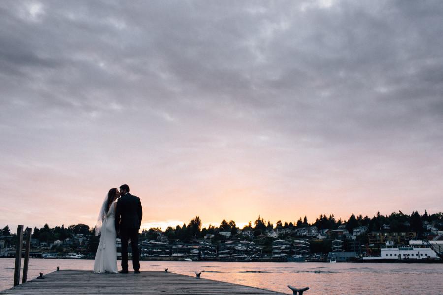 Tyee Yacht Club Wedding on Lake Union - Sparkfly Photography