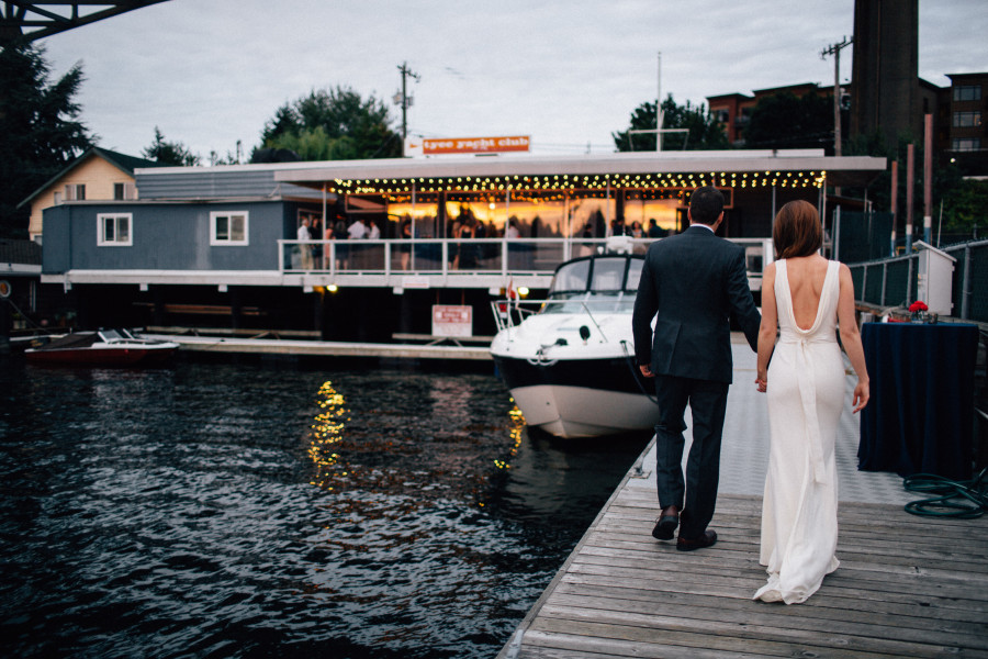 Tyee Yacht Club Wedding on Lake Union - Sparkfly Photography