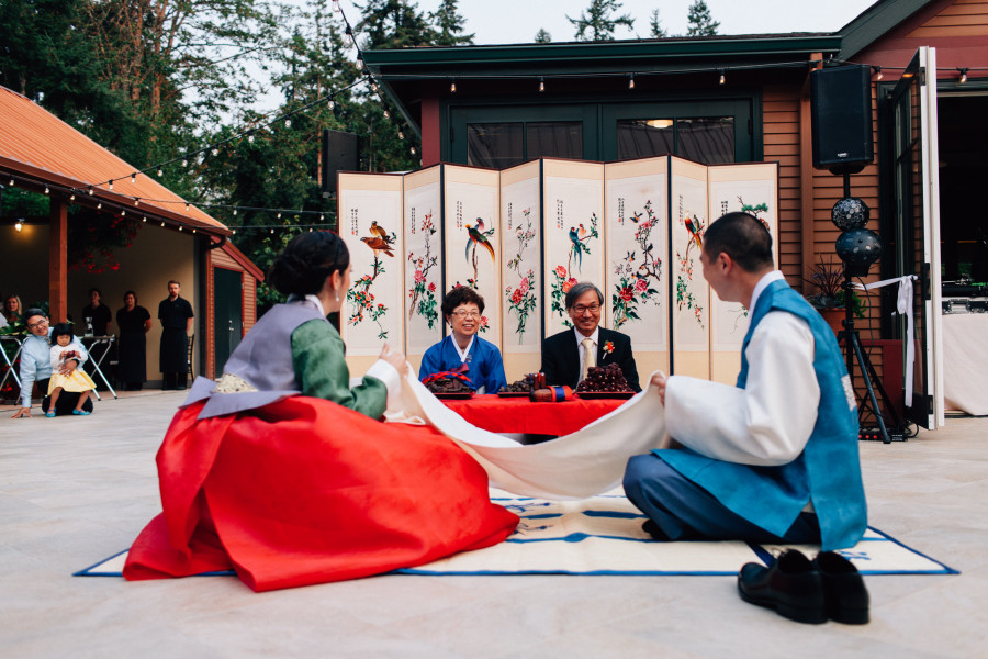 korean wedding froggsong gardens