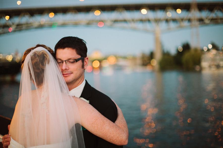 lake union wedding photos seattle