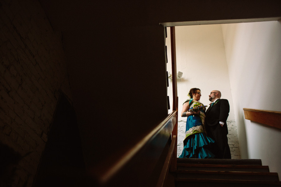 annex theater wedding photos