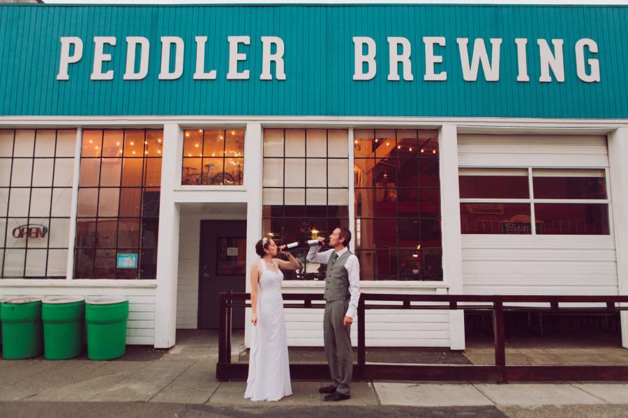 seattle brewery wedding photography seattle