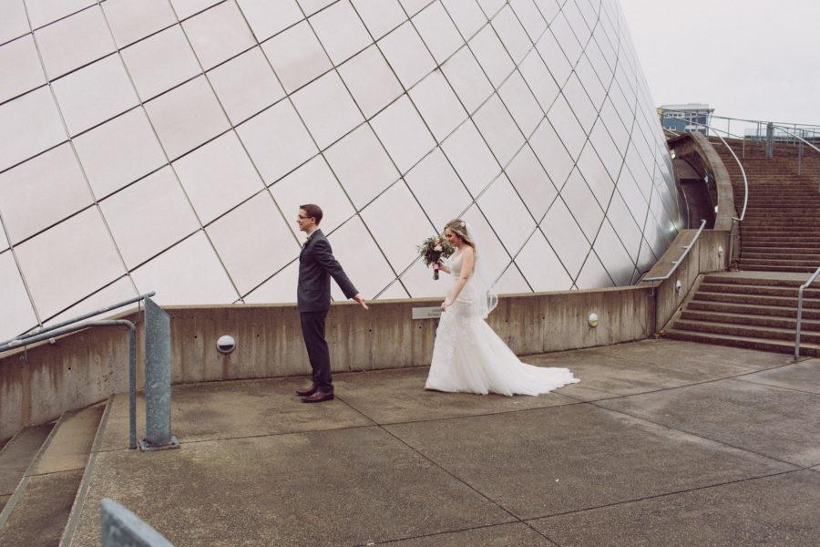 Wedding Photography Tacoma Wa: Downtown Tacoma Wedding Photographer
