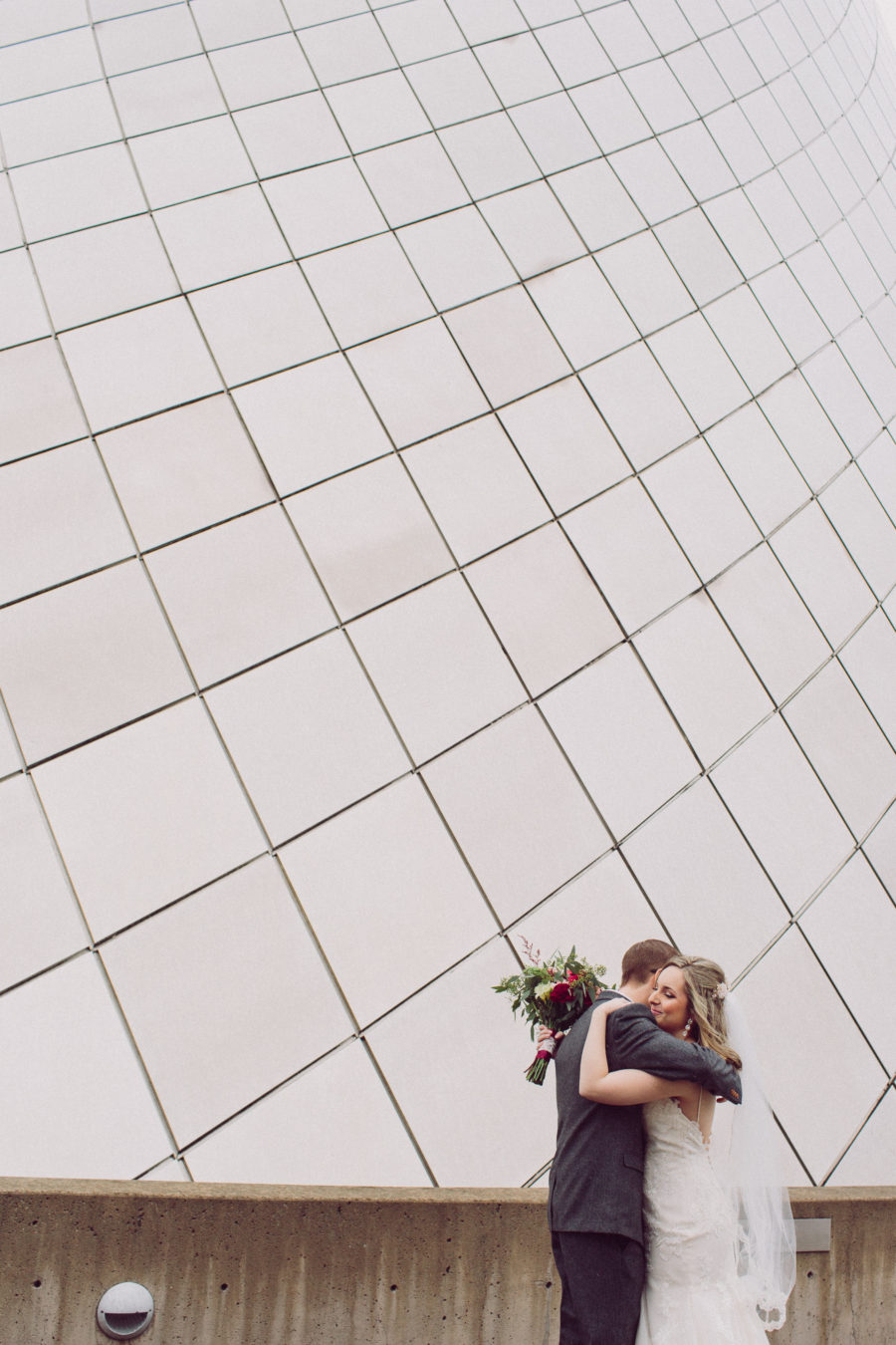 downtown tacoma wedding portraits