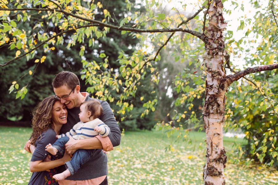 green lake family photos