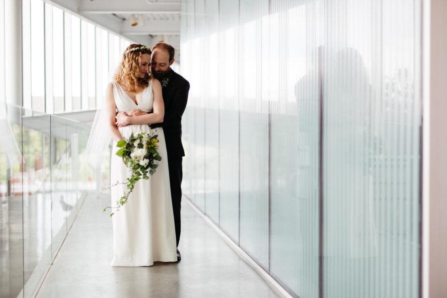 olympic sculpture park wedding photos
