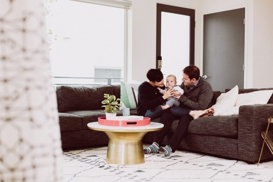 Indoor Baby Photos: Bright and Beautiful